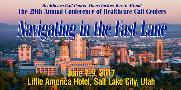 The 27th Annual Conference of Healthcare Call Centers